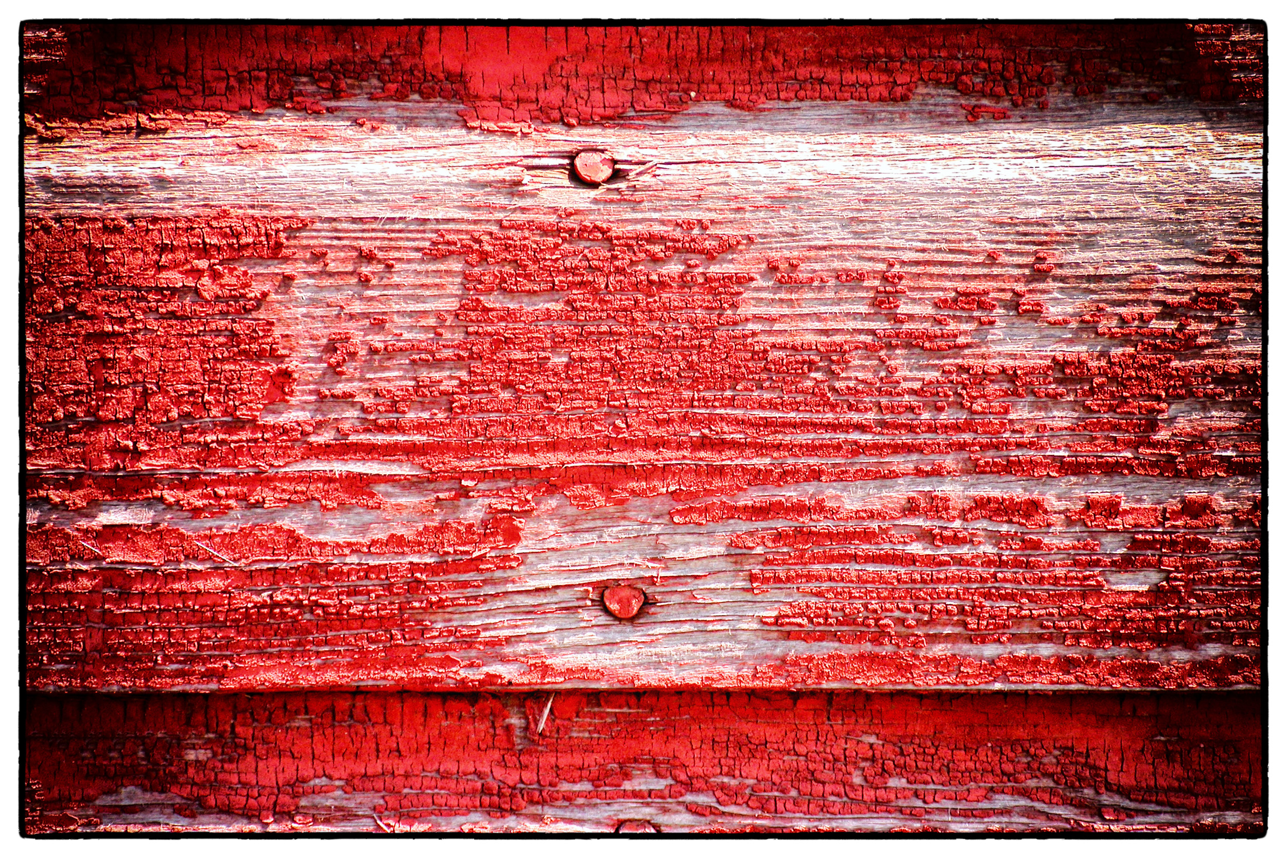 """""""North Dakota Red Barn"""" by Scott Takeda"""