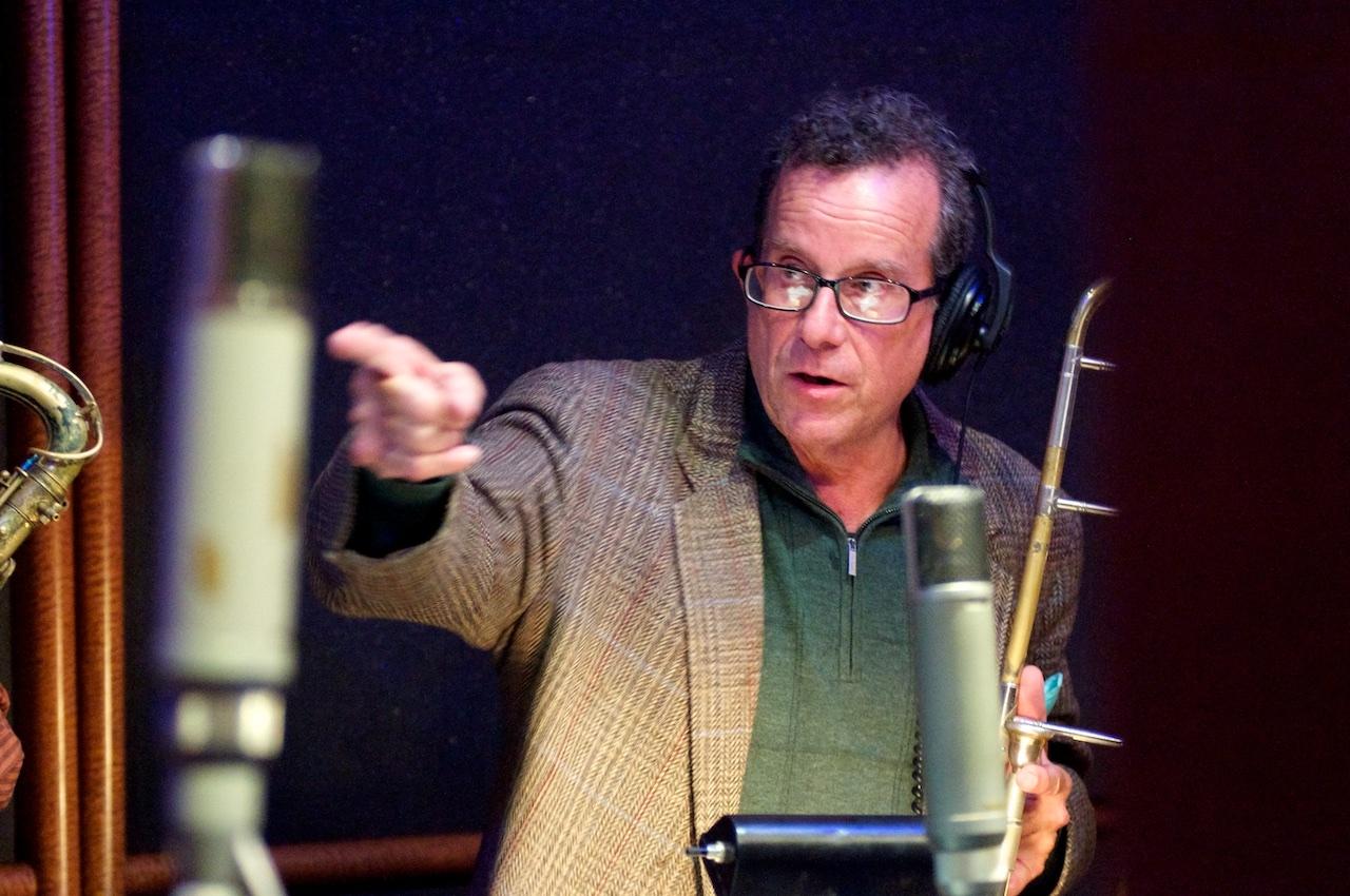 Dan Weinstein on Trombone! The Mudbug Brass Band