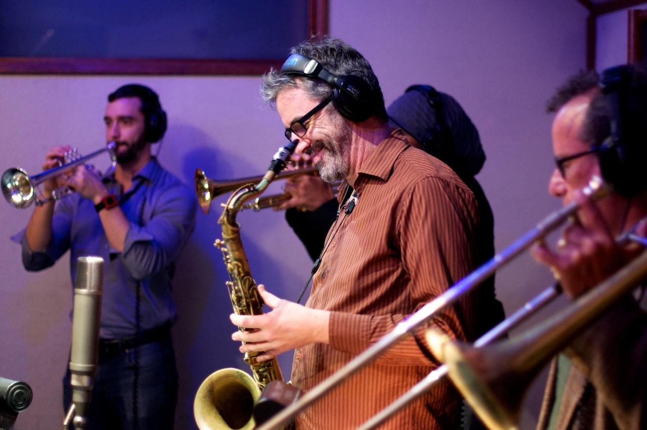 Mudbug Brass in the Studio!
