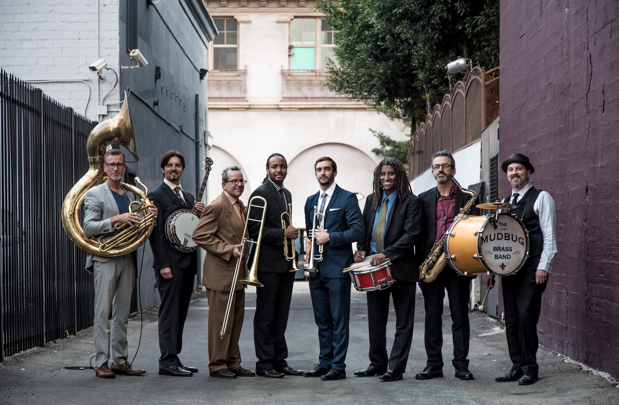Mudbug Brass: Down the Alley 2016!