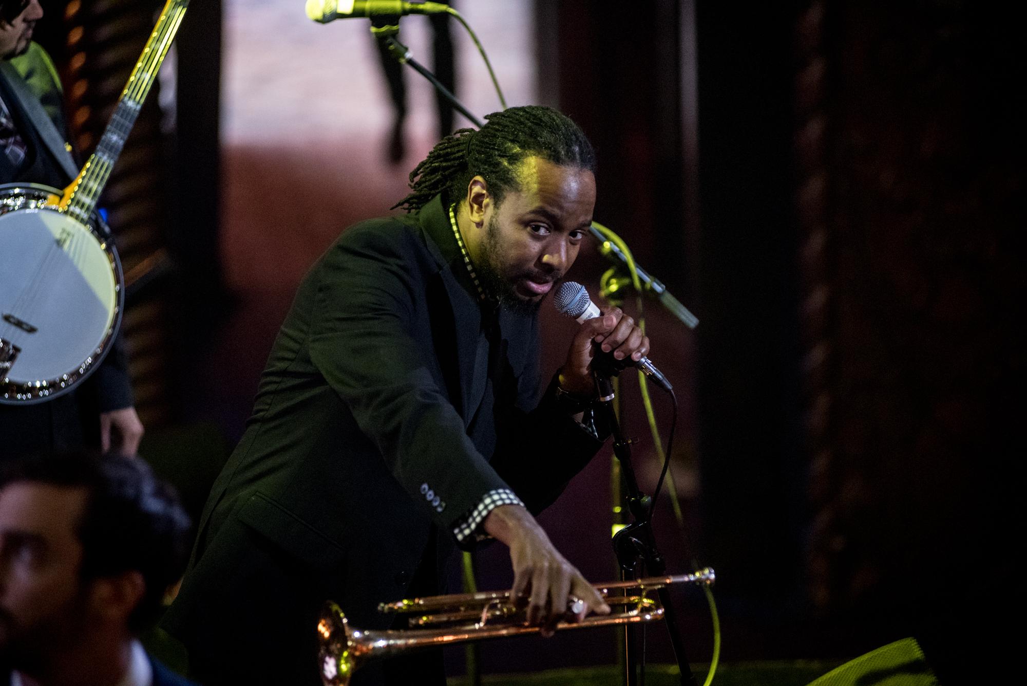 Jamelle Adisa: The Mudbug Brass Band