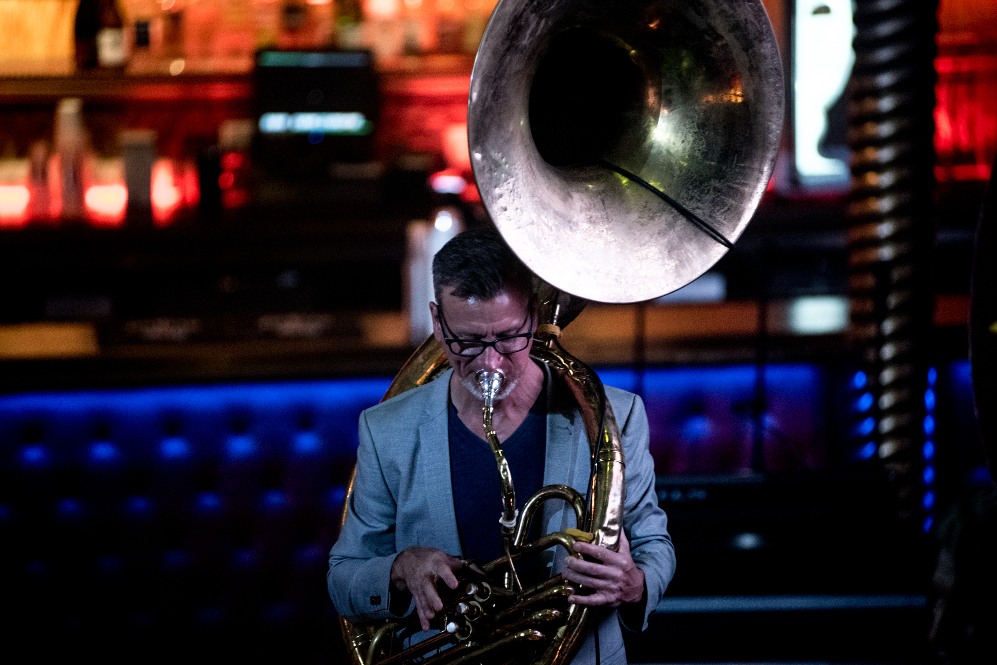 Marc Bolin: The Mudbug Brass Band