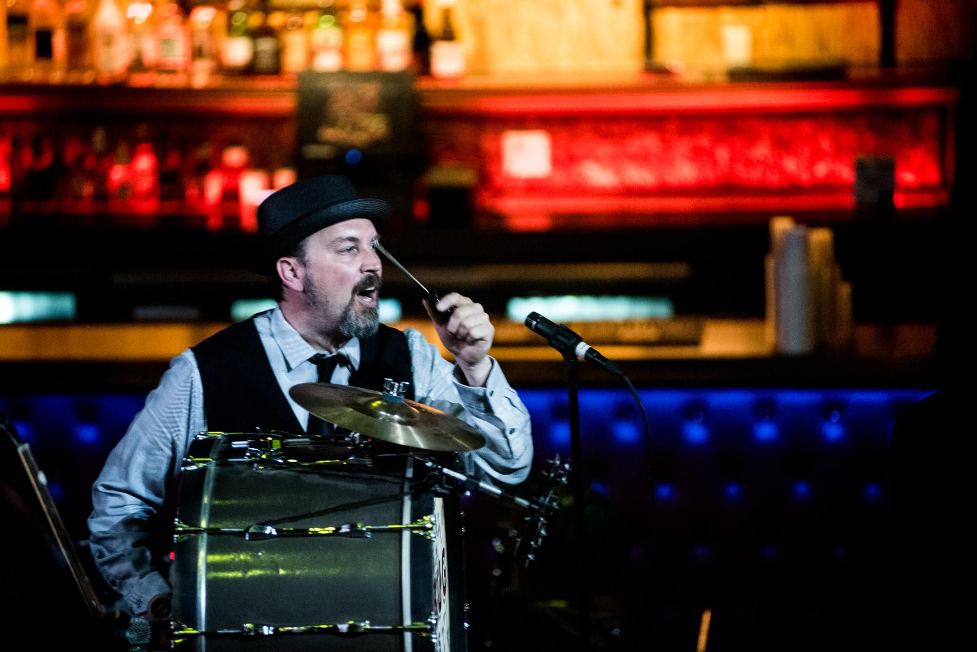 Tim Ganard: The Mudbug Brass Band