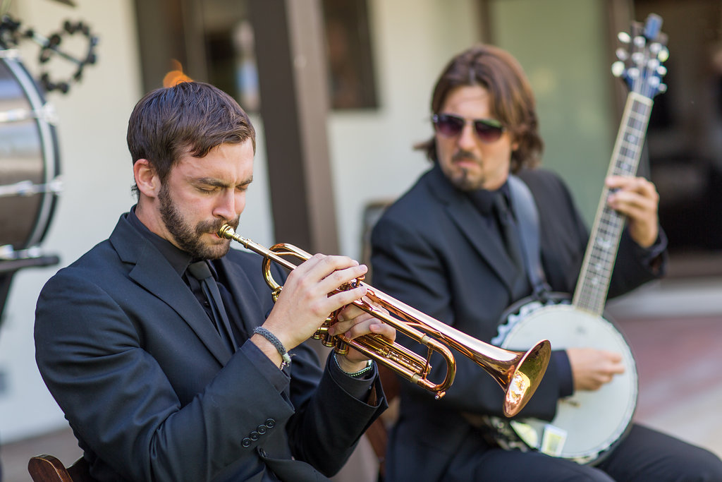 Emily + Matthew Wedding in San Luis Obispo, CA: The Mudbug Brass Band