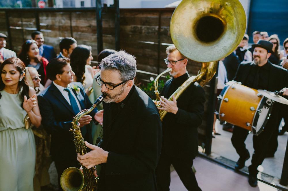 Andrew + Farheen Wedding! The Mudbug Brass Band