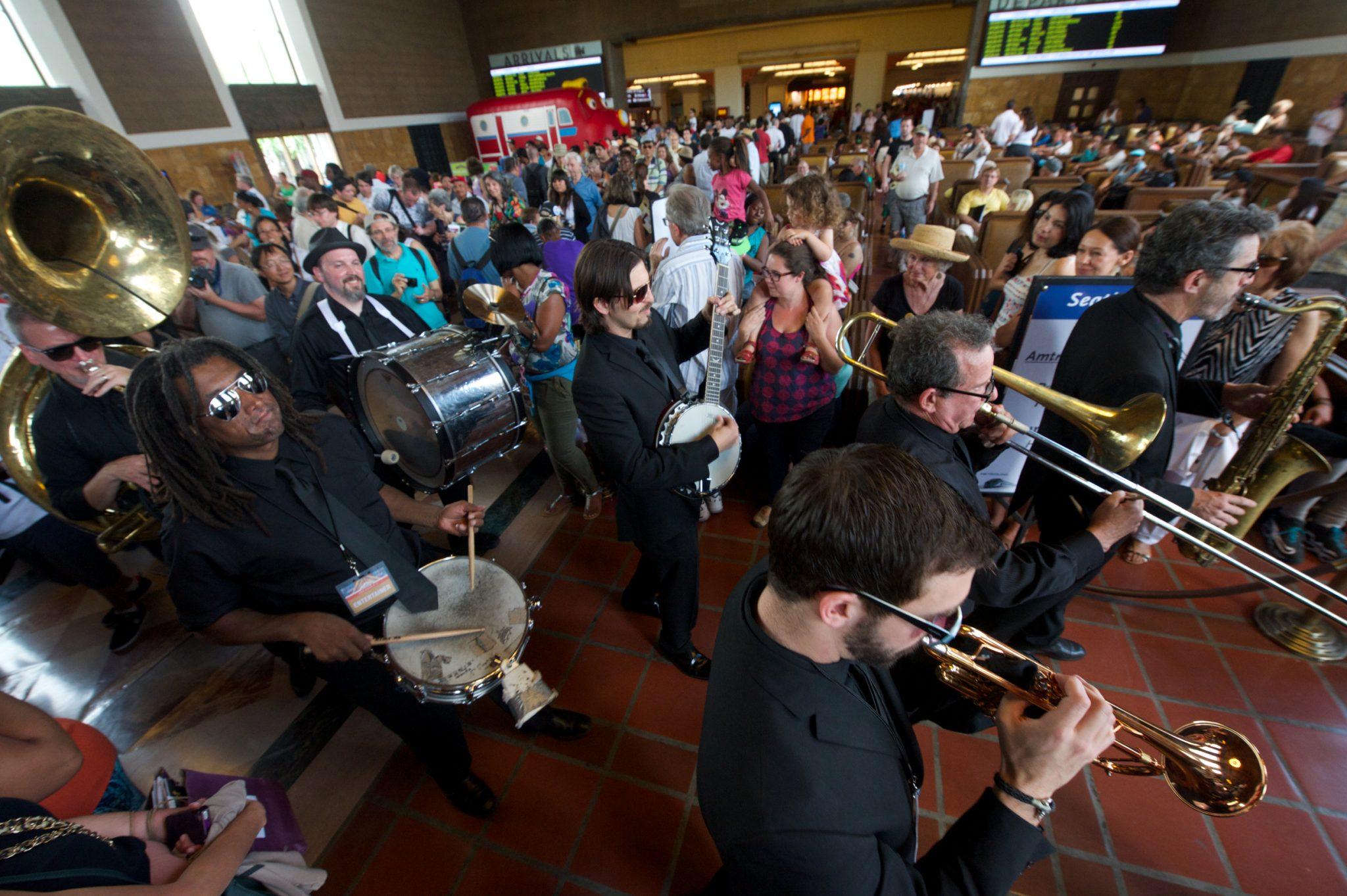 Metro Presents: Mudbug Brass - Union Station 2014