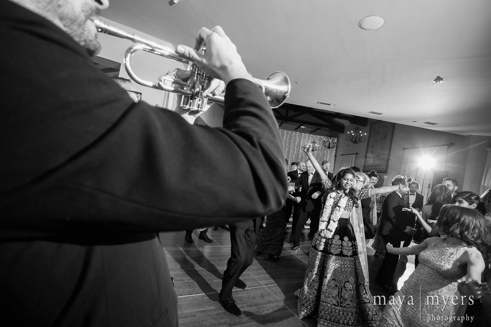 Lakshmi + Gabe in Malibu, CA 2018! The Mudbug Brass Band