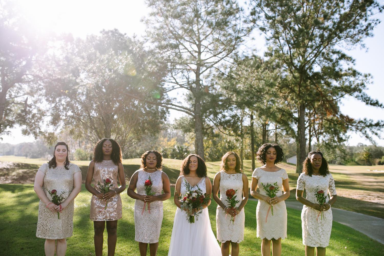 Winter wedding in Florida