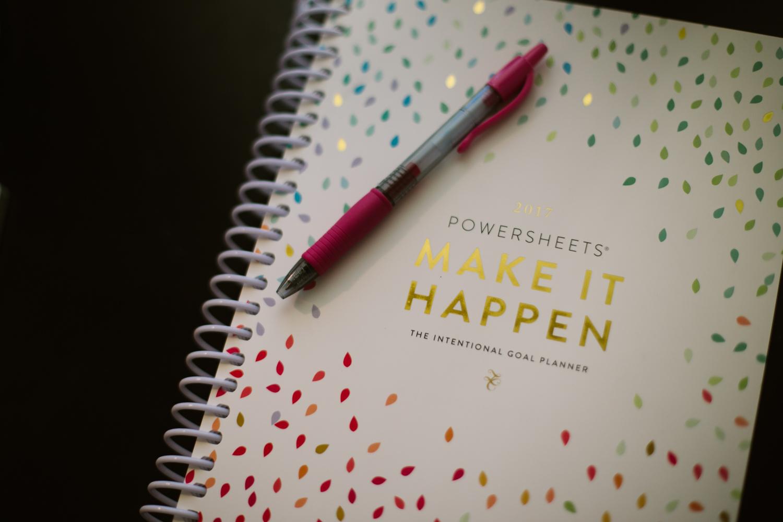 Make It Happen Powersheets 2017