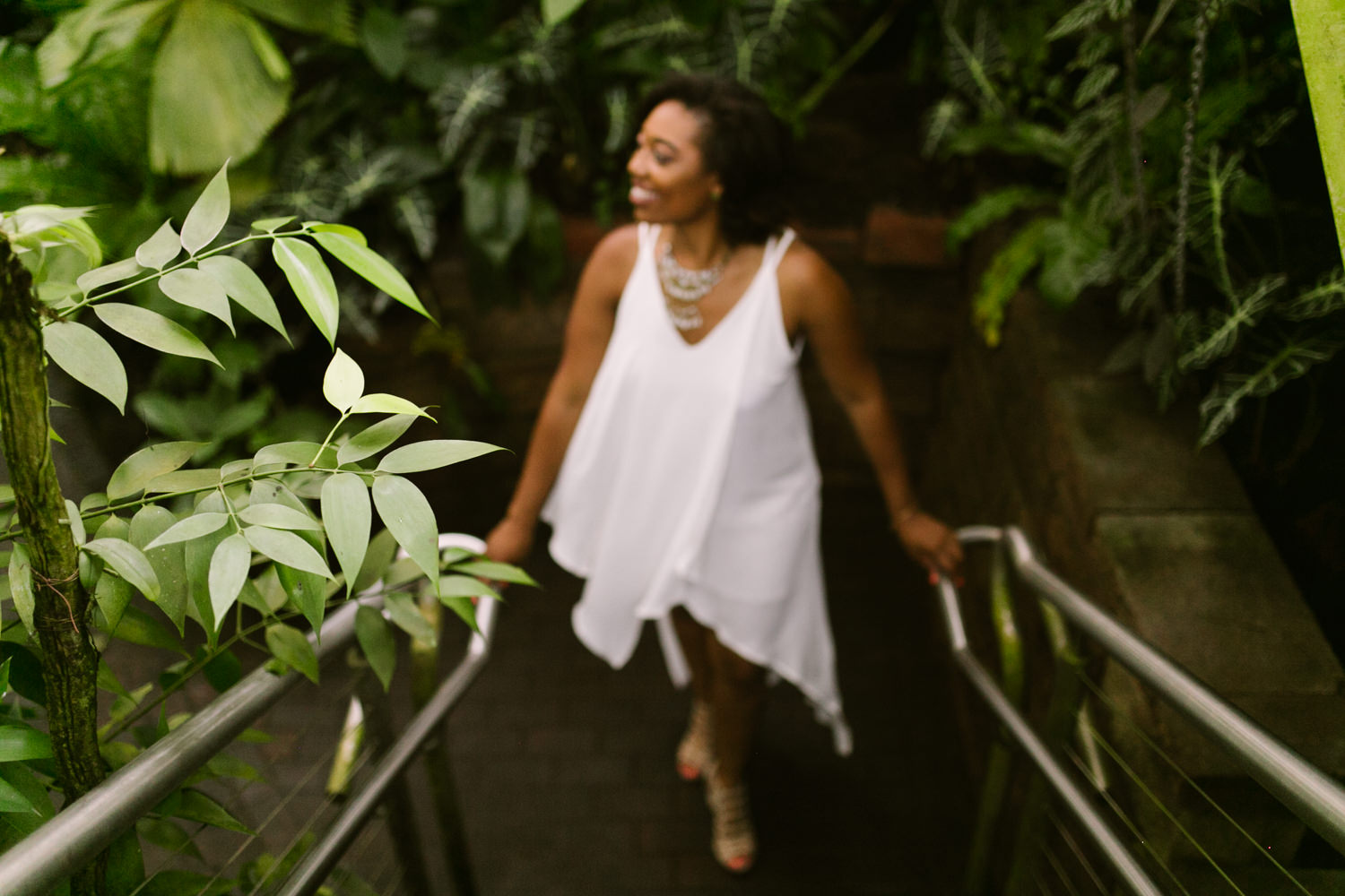 Atlanta botanical gardens photoshoot