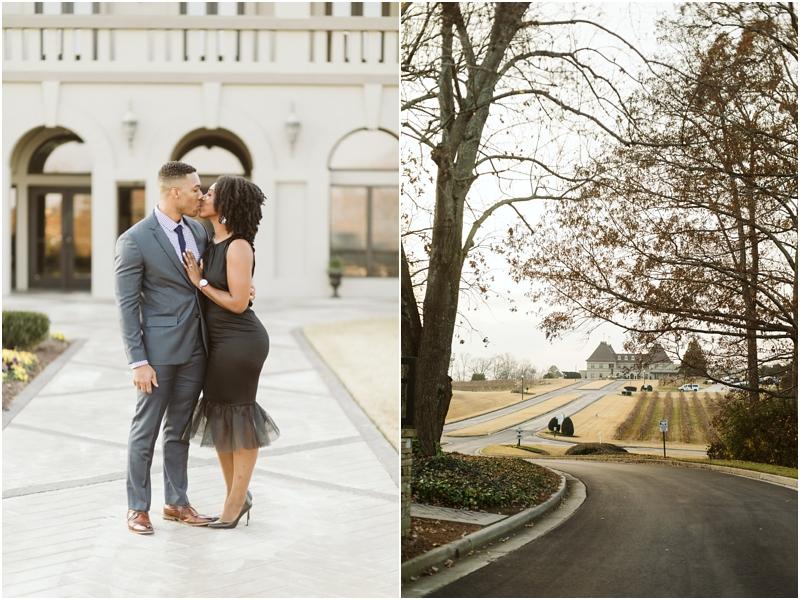 chateau elan proposal and engagement photos