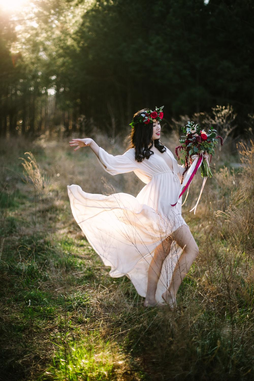 Free People Inspired Bridal Shoot