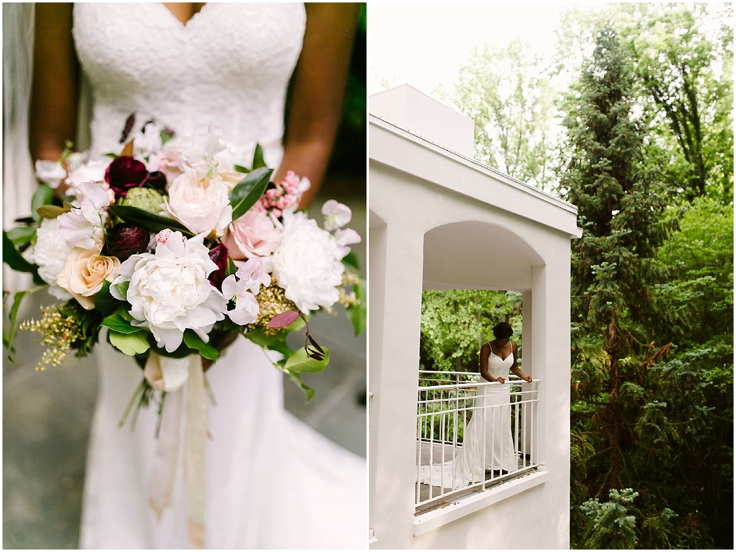 swan coach house bridal bouquet photo