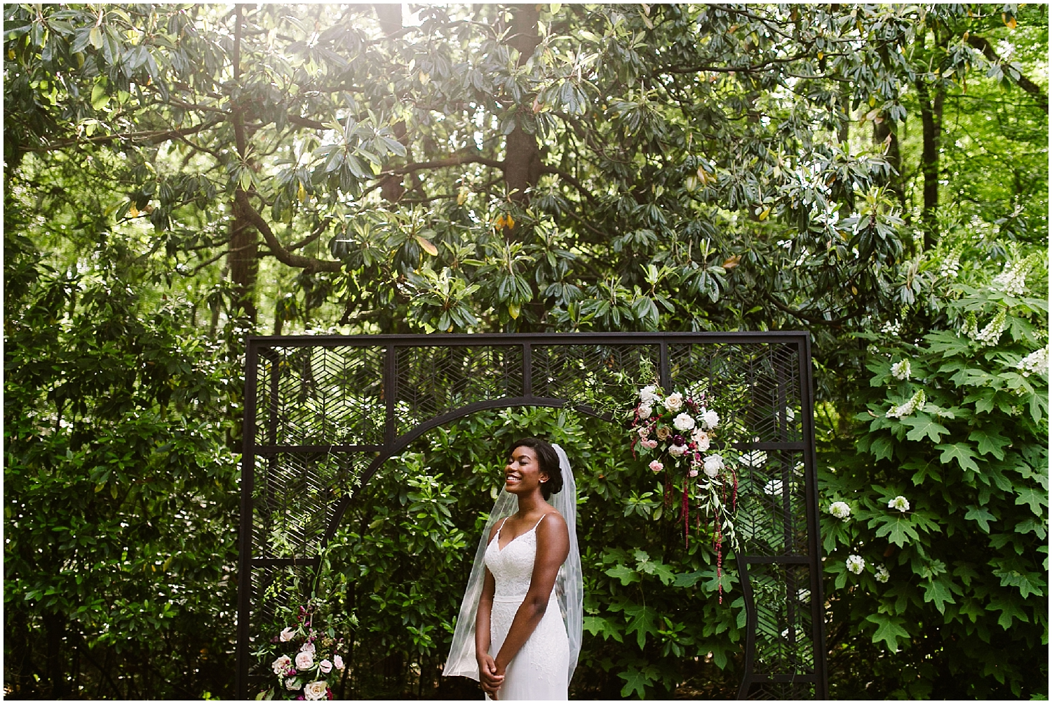 black bride at swan coach house