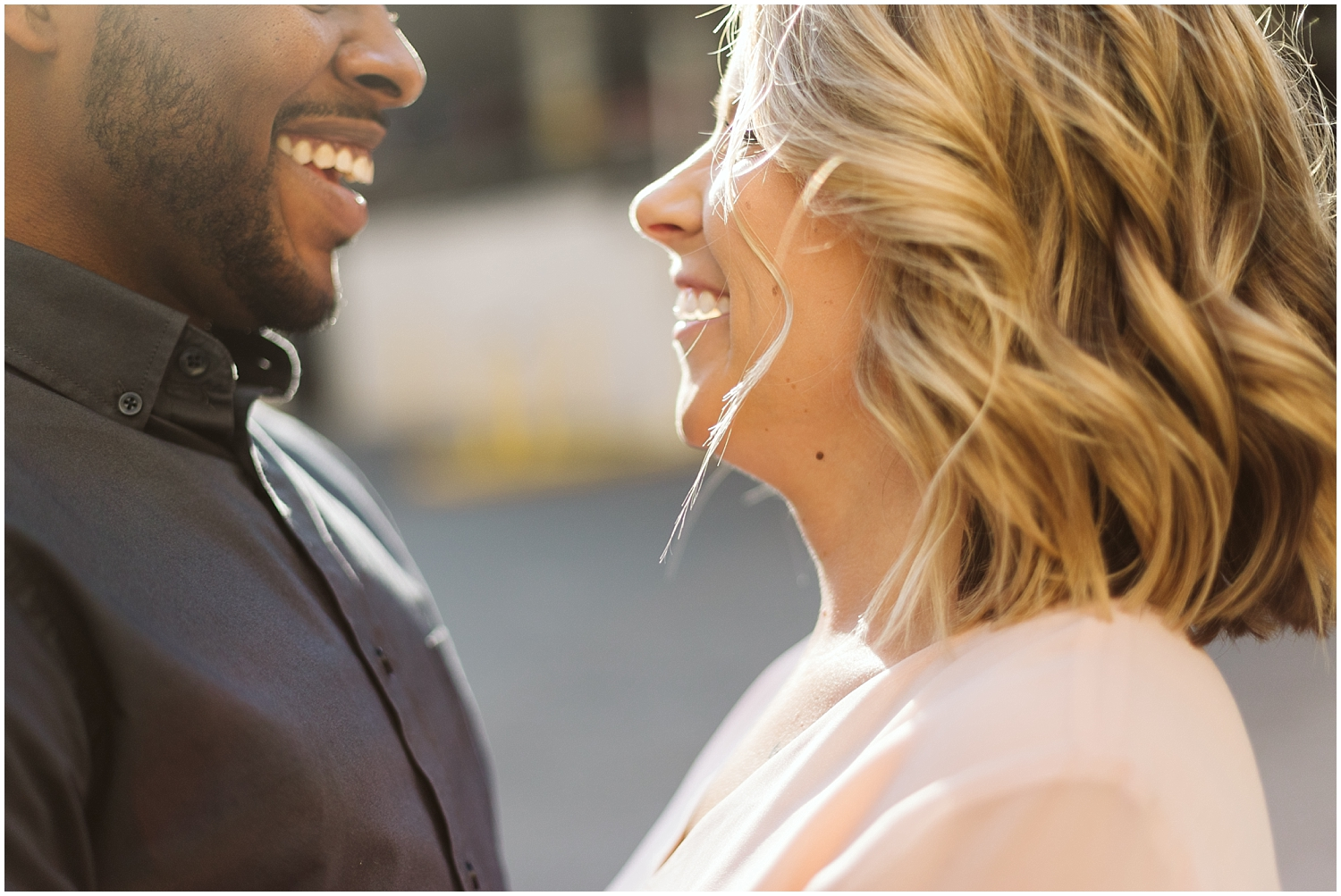 sunny downtown atl engagement session