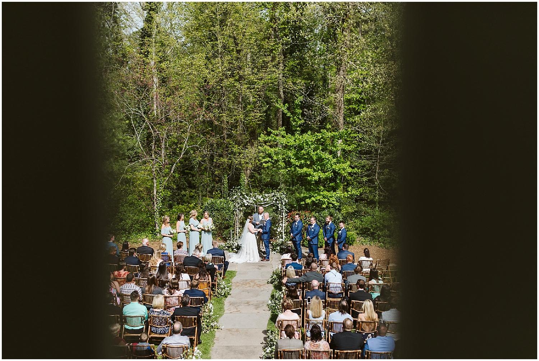 RT lodge wedding ceremony