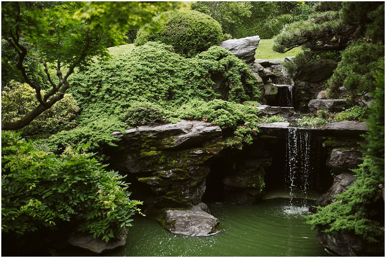 peaceful brooklyn botanic garden wedding