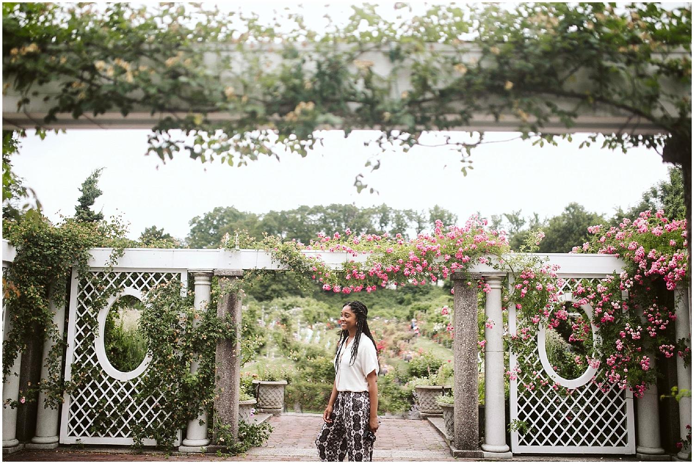 summer day at the brooklyn botanic garden