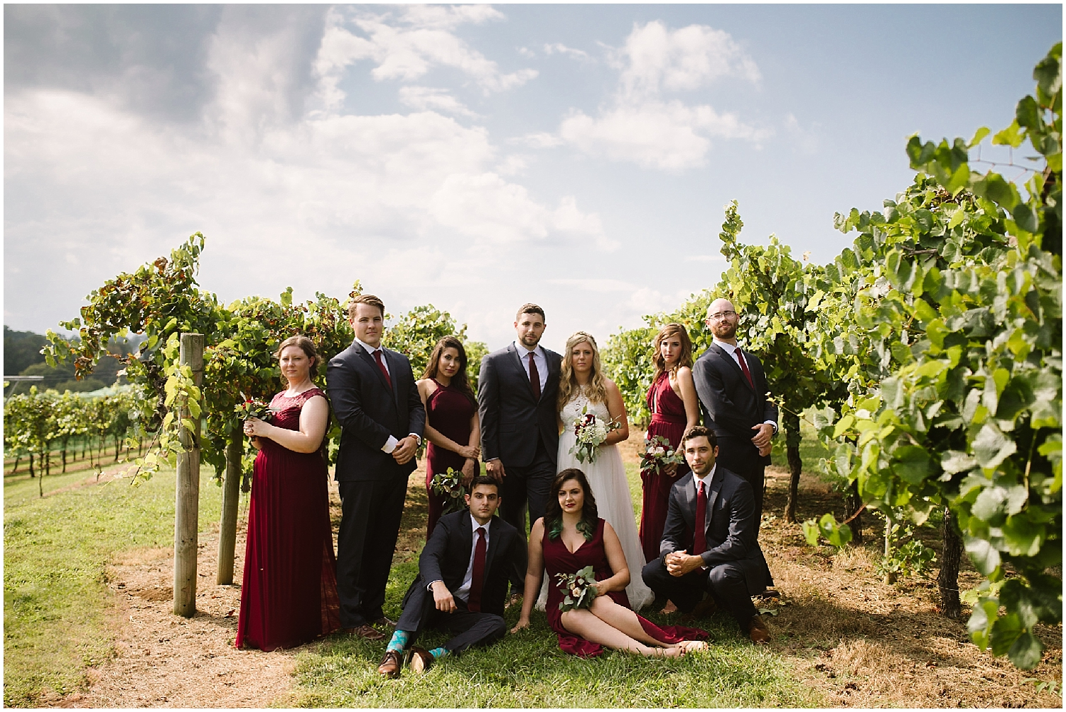 outdoor portraits at debarge winery