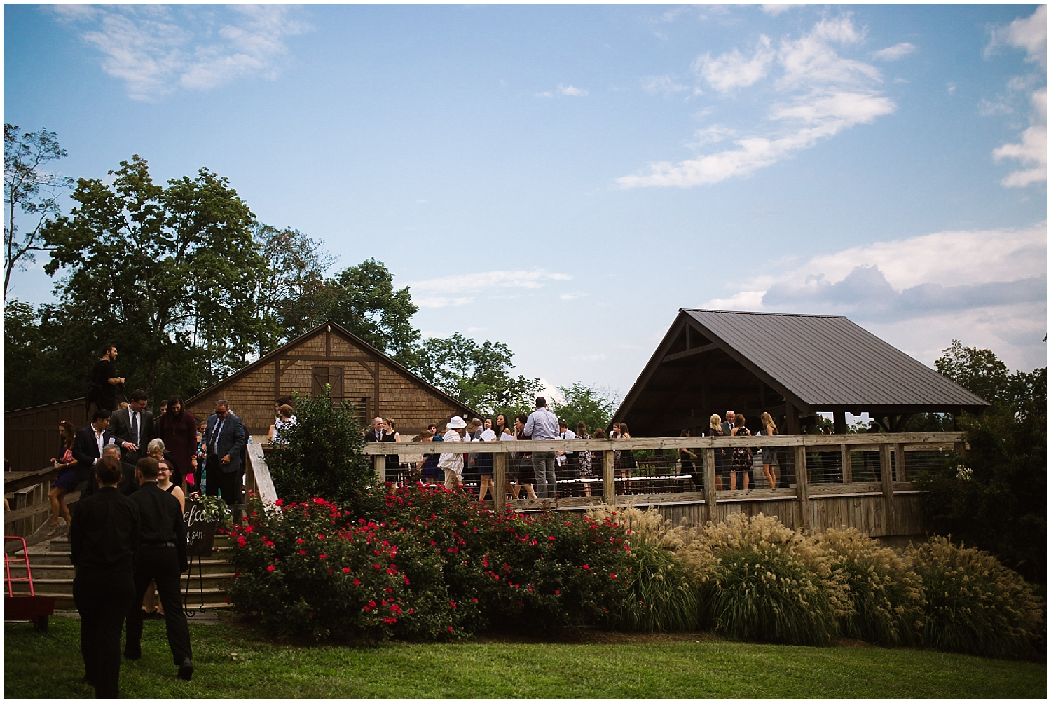 perfect fall wedding at debarge winery