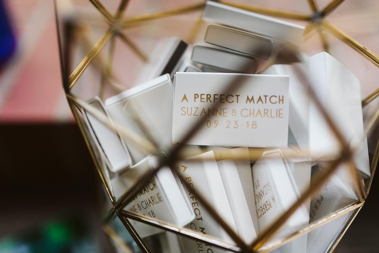 custom matchboxes for wedding favor