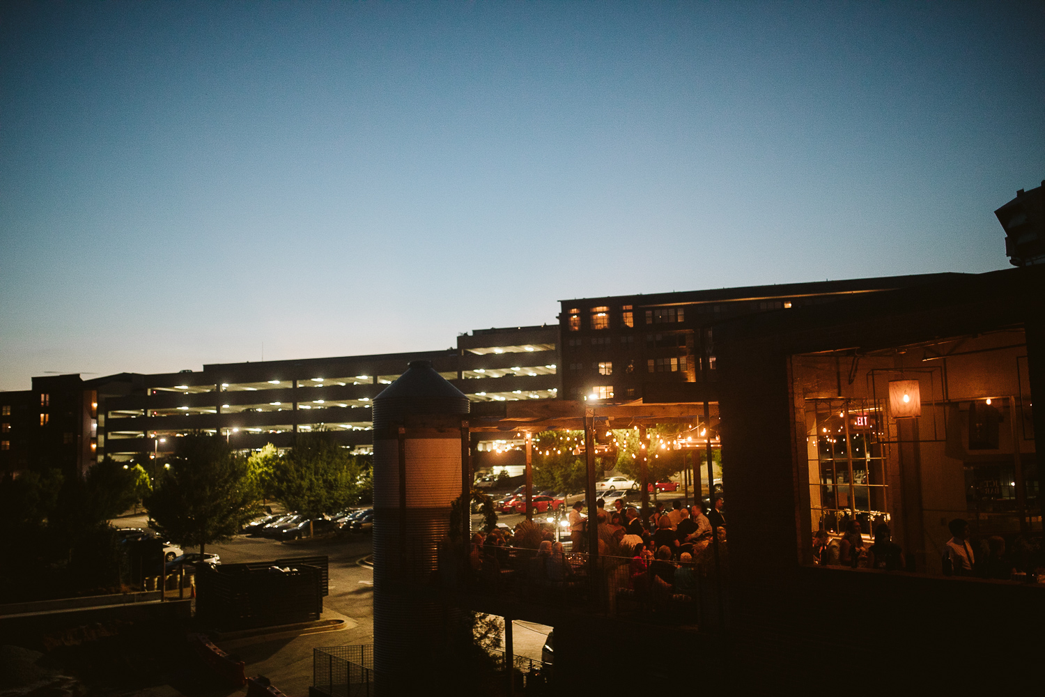night time at JCT kitchen and bar