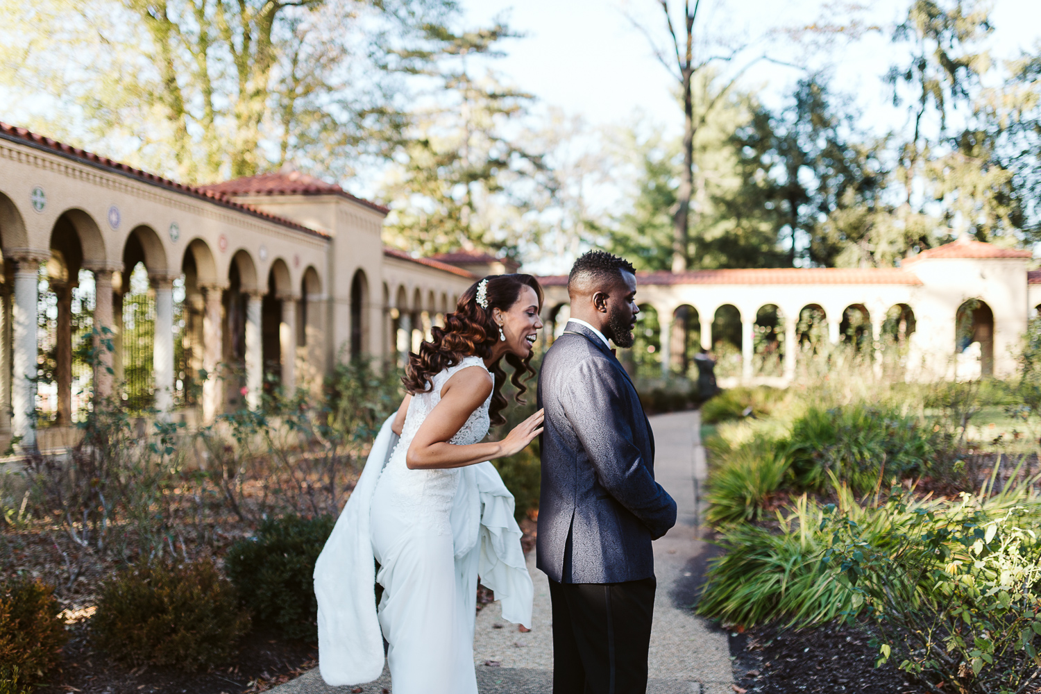 winter wedding at st francis hall