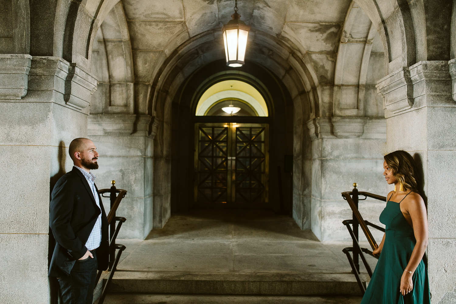 creative engagement shoot at the library of congress