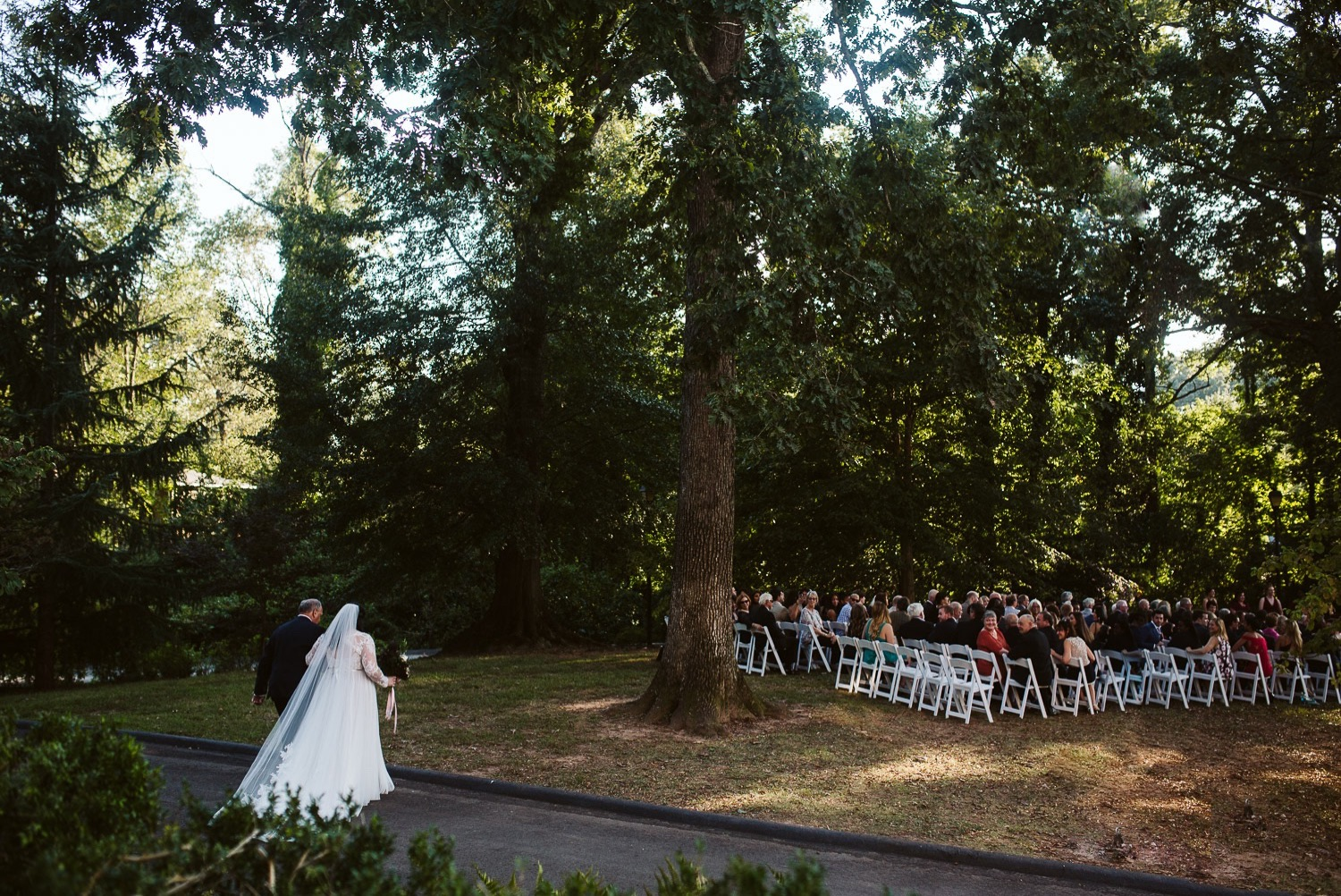 october wedding ceremony at callanwolde fine arts center