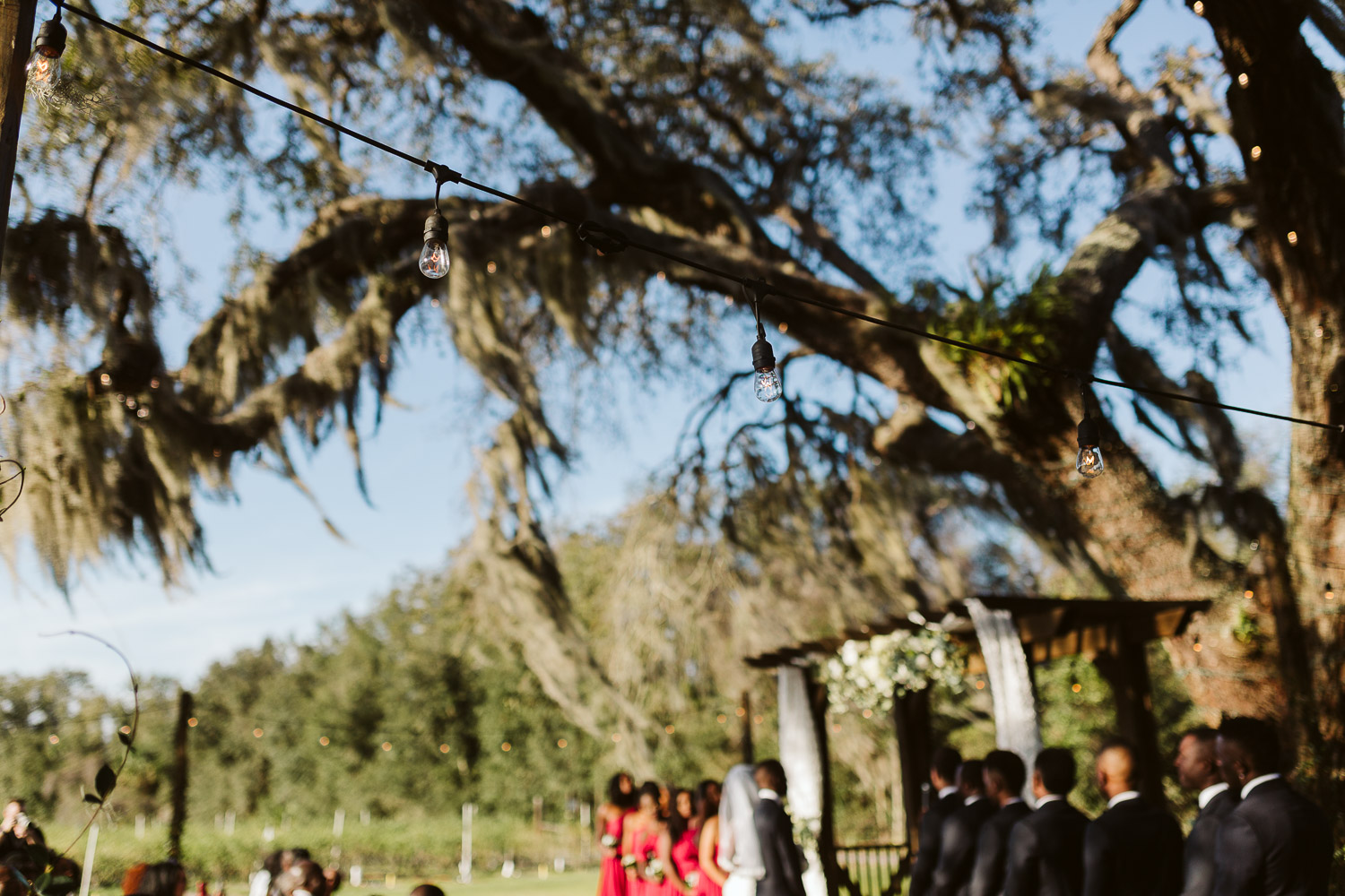 jacksonville florida wedding ceremony at ever after farms