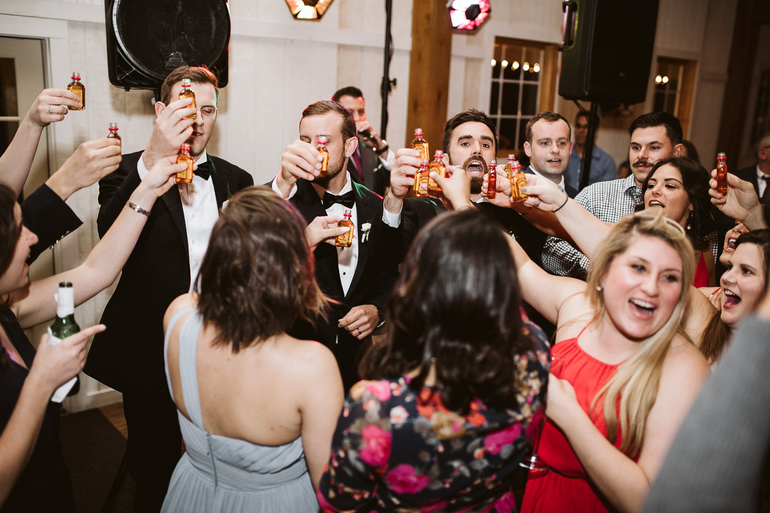 fireball wedding shots