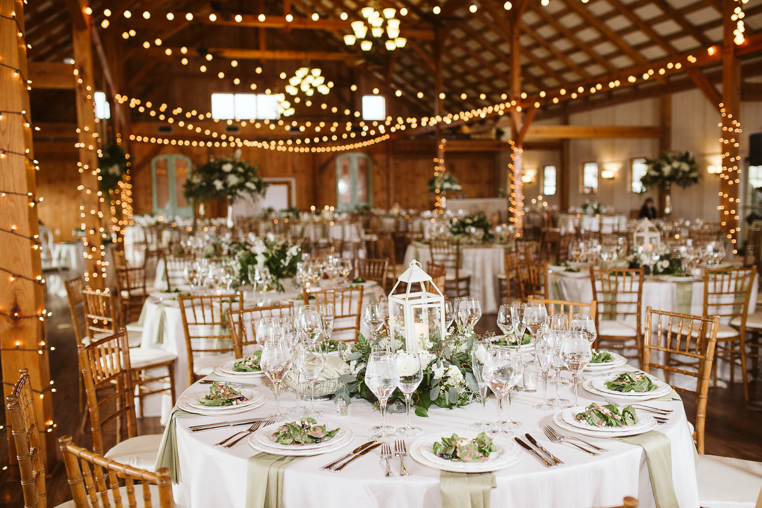 spring wedding reception at shadow creek