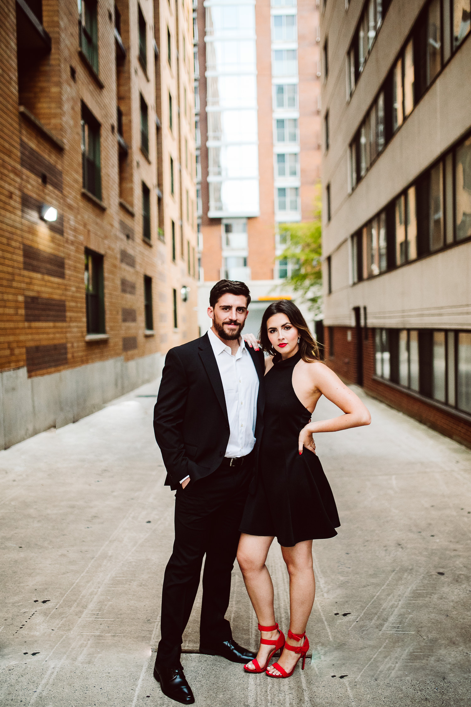 dressy engagement session outfit inspiration