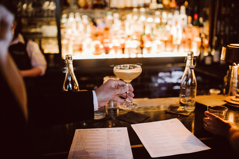 washington dc engagement photos at denson liquor bar