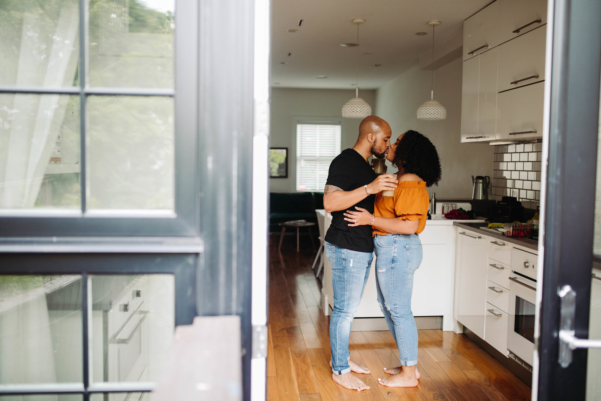 dc airbnb engagement session