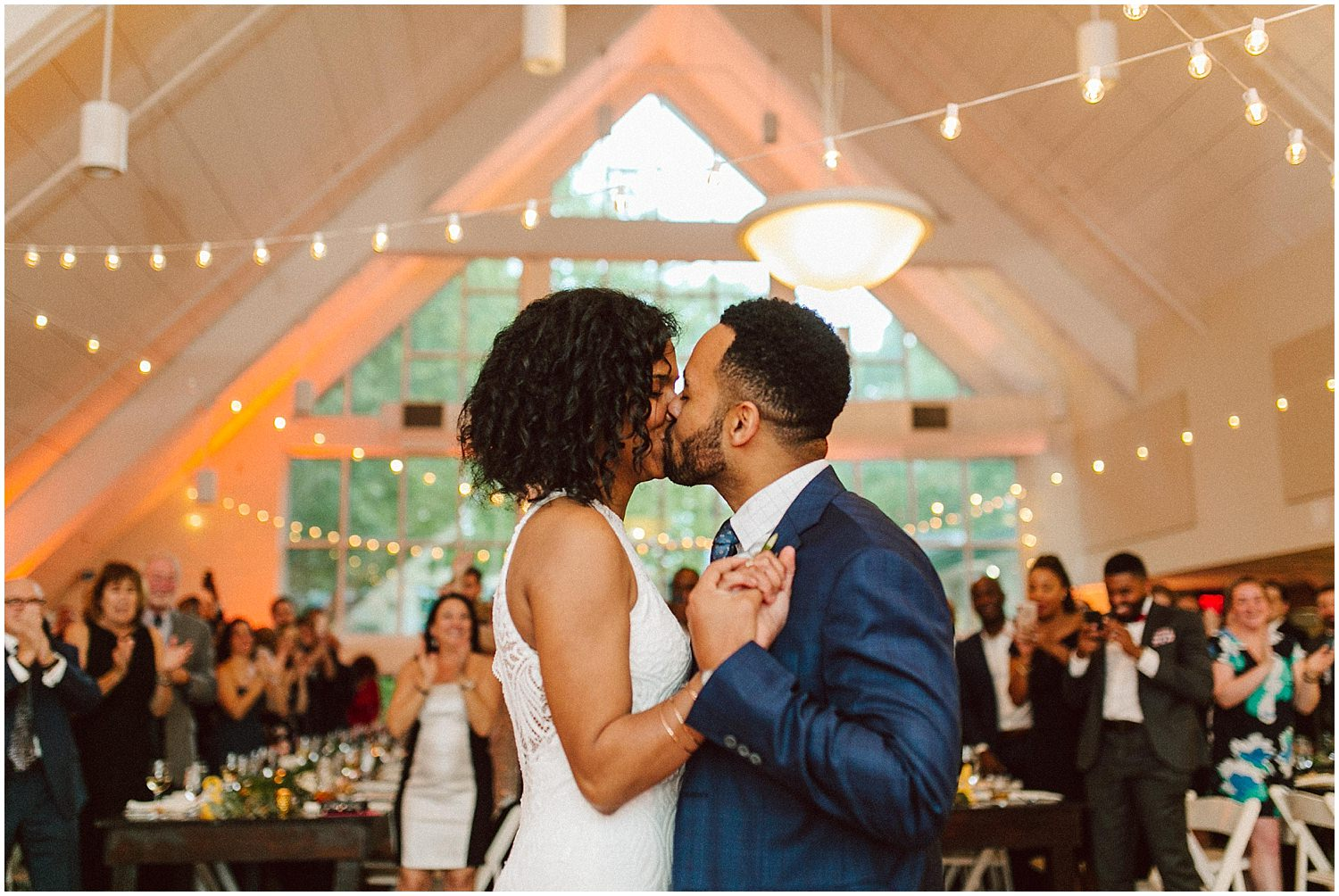 first dance at cator woolford gardens wedding