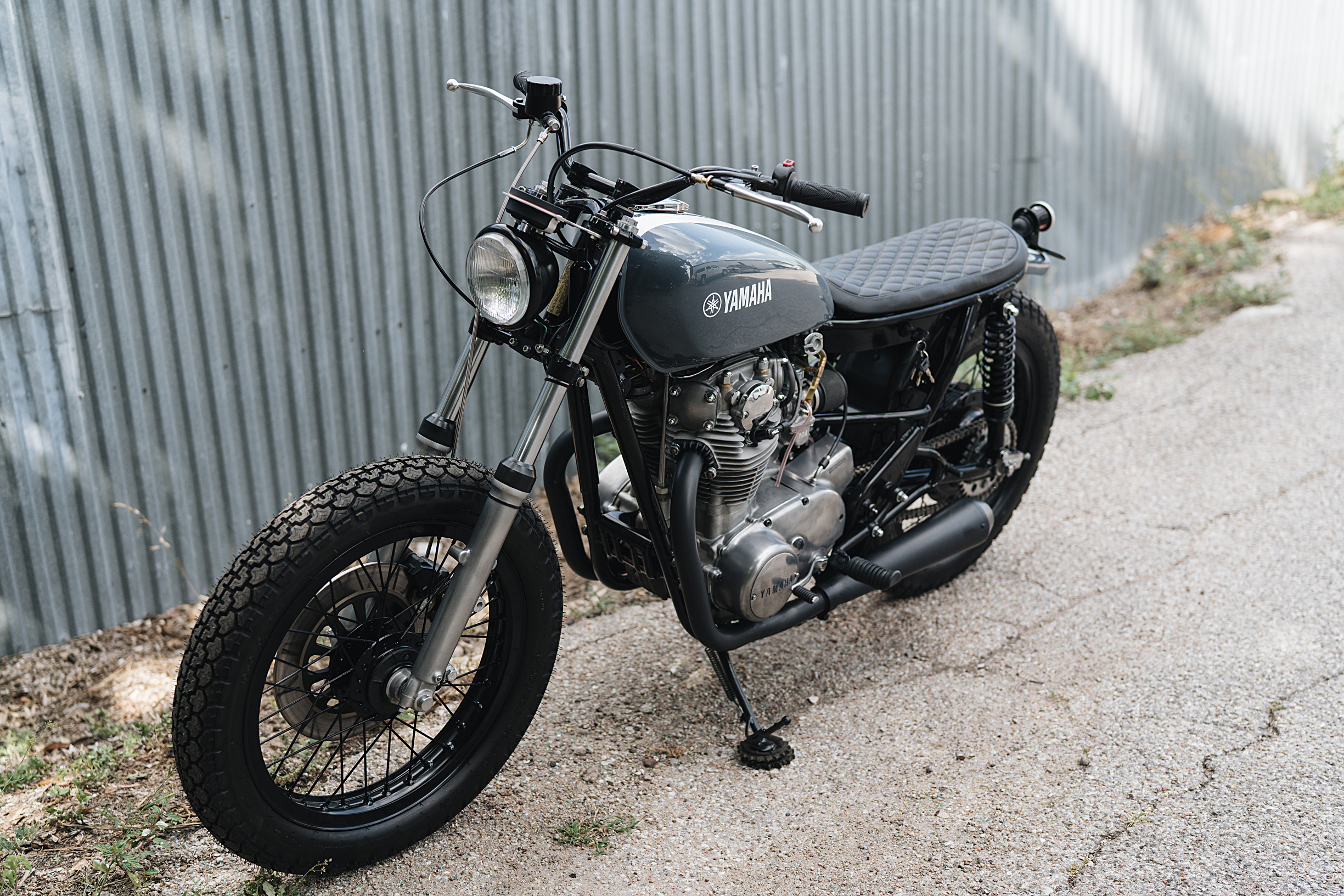 1978 XS650 Skinny Brat — Limeybikes