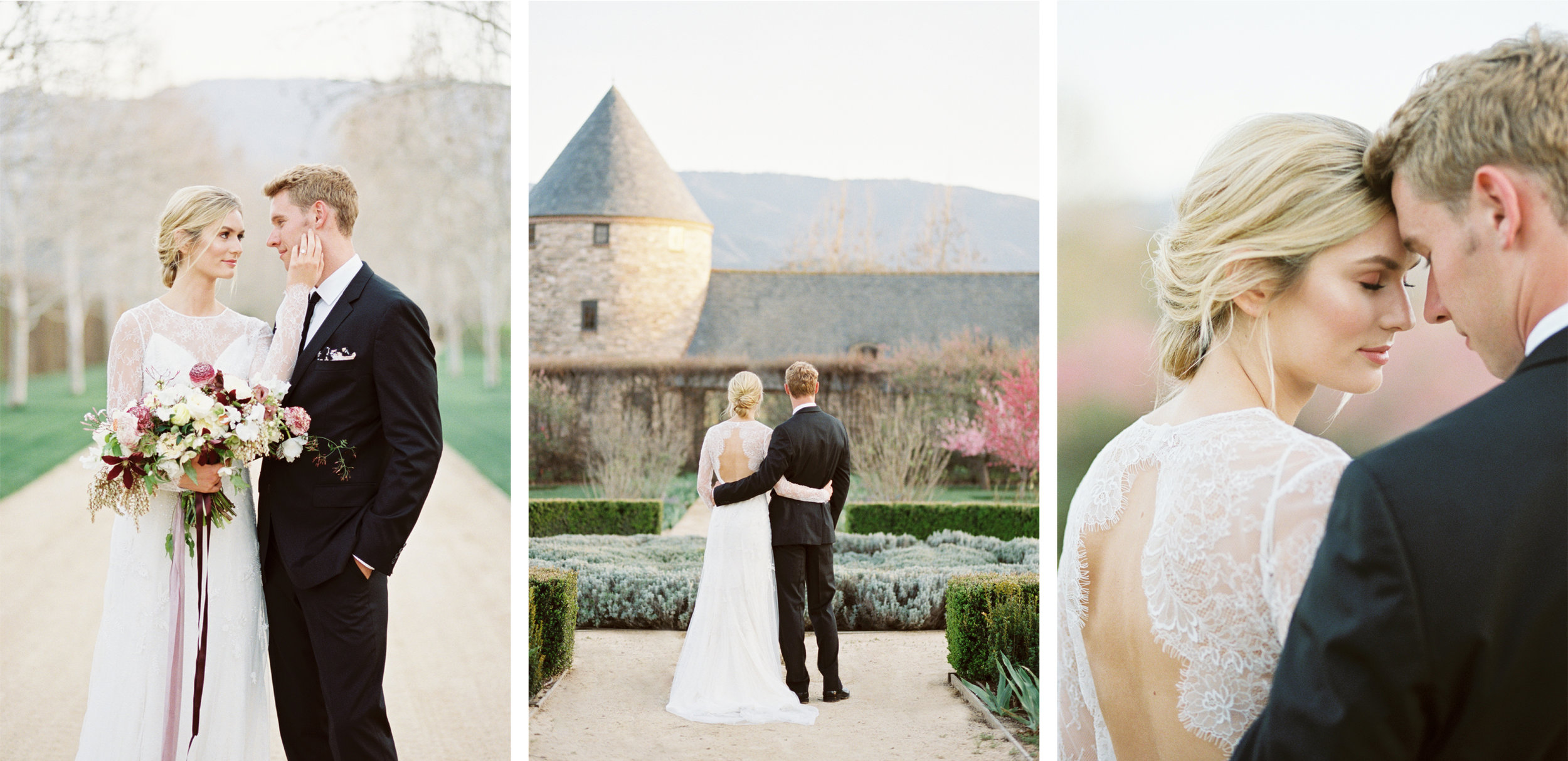 Romantic Wedding at Kestrel Park in Santa Ynez, California by Tara Bielecki Photography
