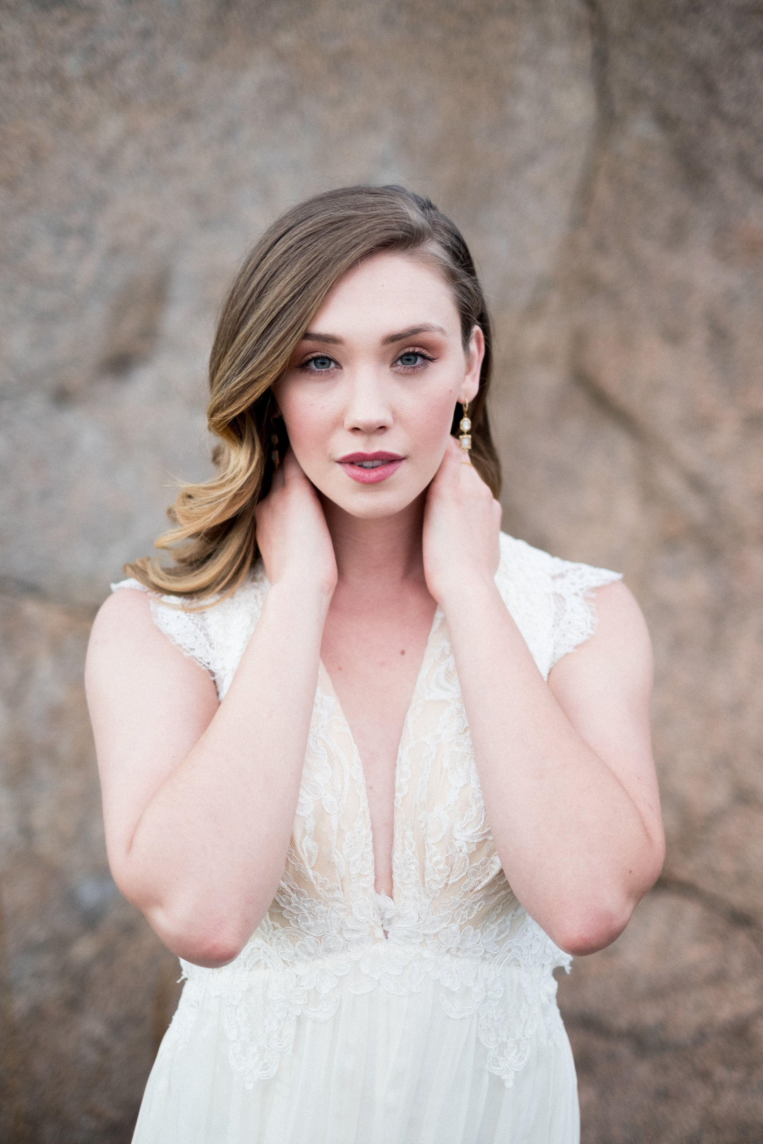 Simplistic Bridal Session featured on Rocky Mountain Bride