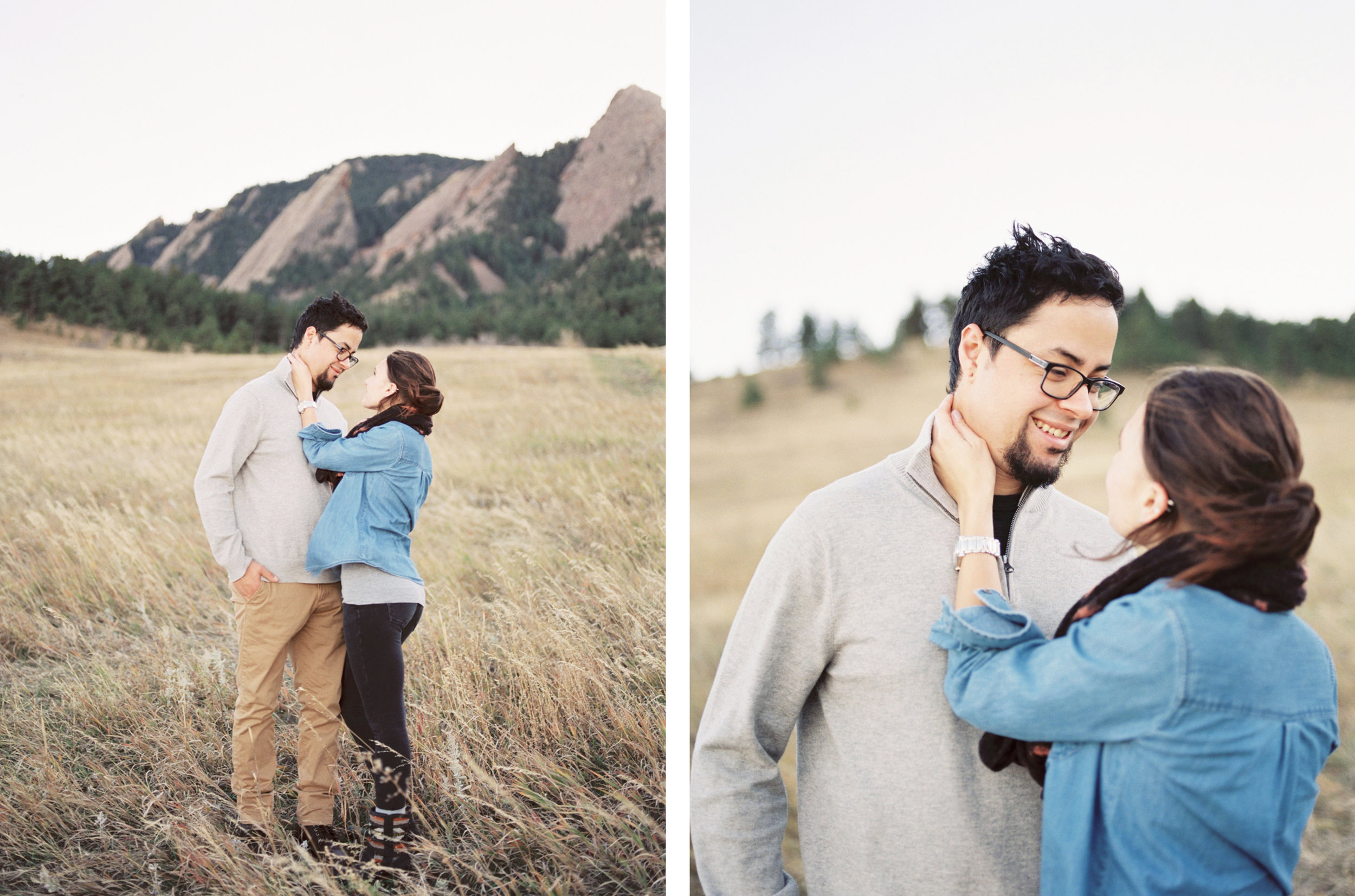 Chautauqua Boulder Engagement Session