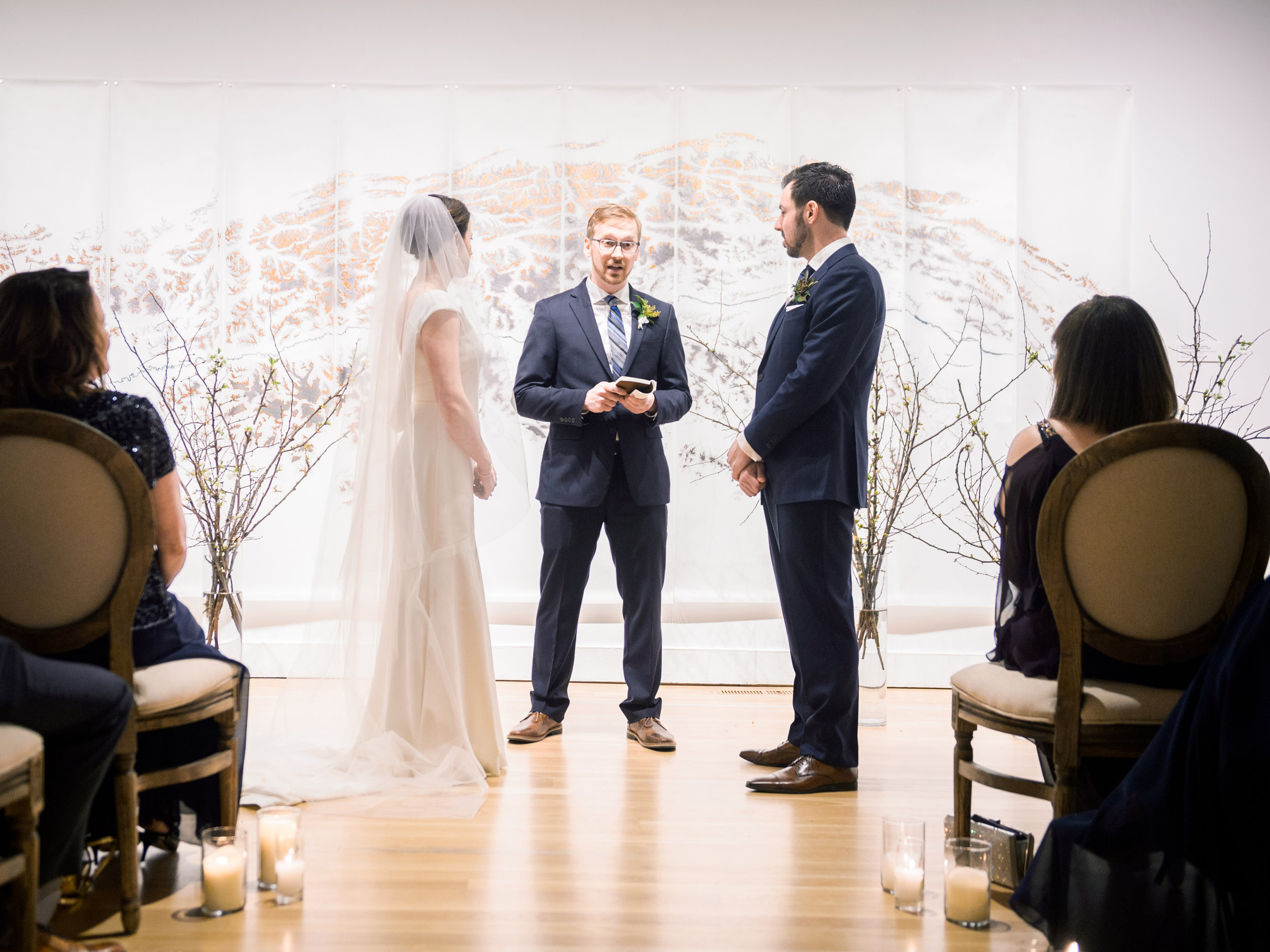 BMoCA Boulder Wedding with Film Photographer Tara Bielecki