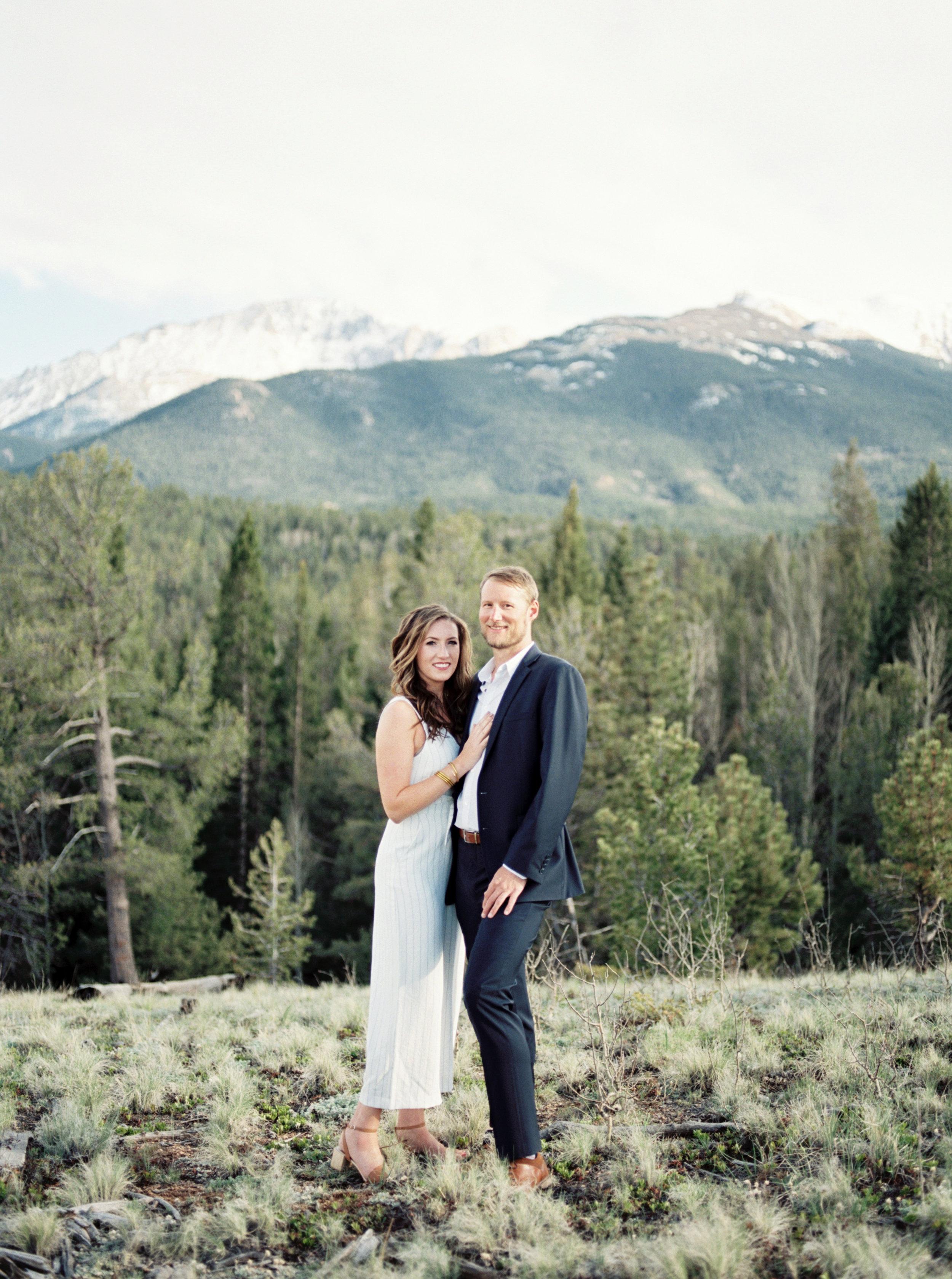 Tara Bielecki Photography - Pikes Peak, Colorado Springs Summer Engagement Session