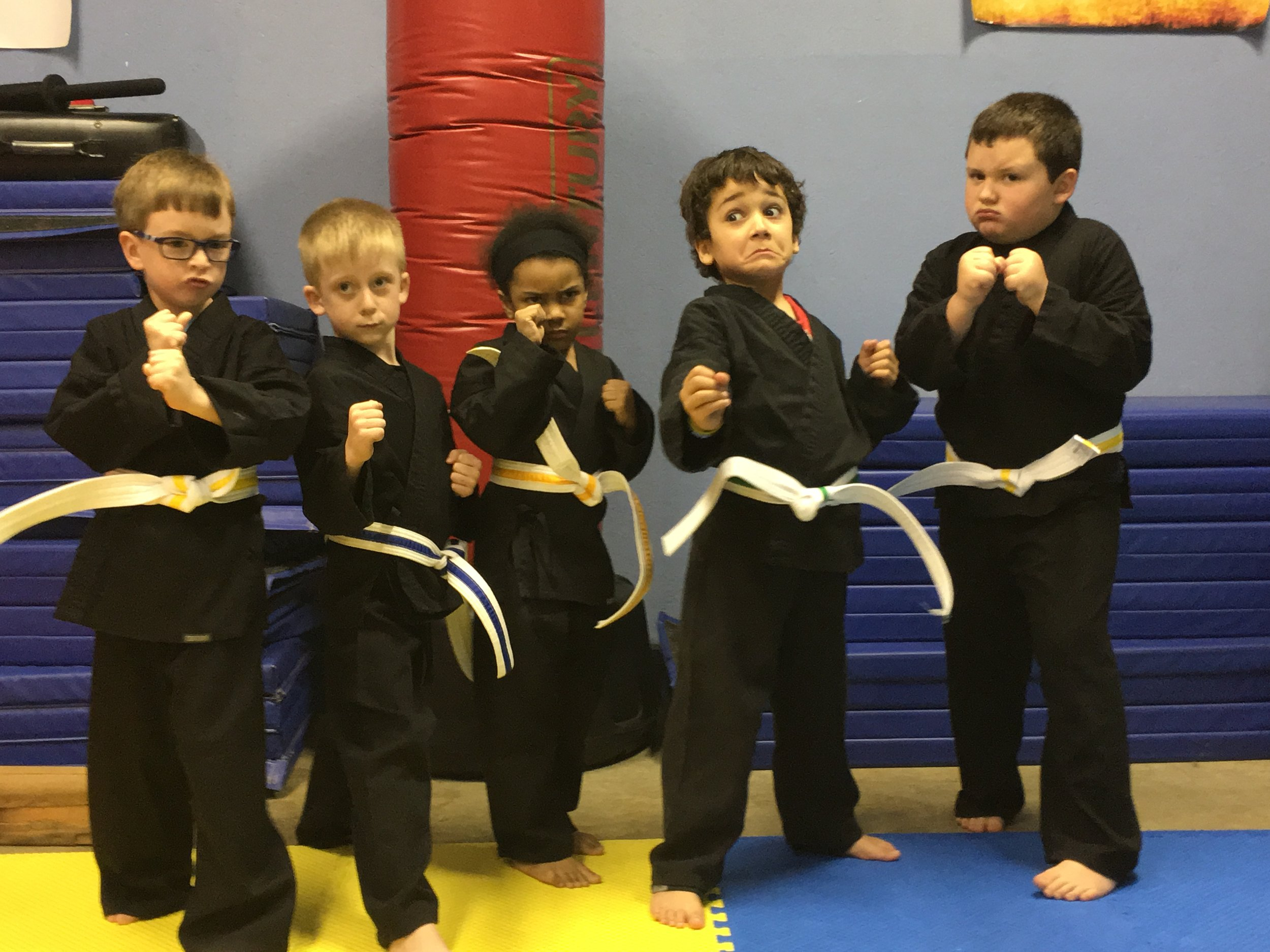 Wee Warriors    ages 4-7    Tues. & Thurs. 5:30 PM