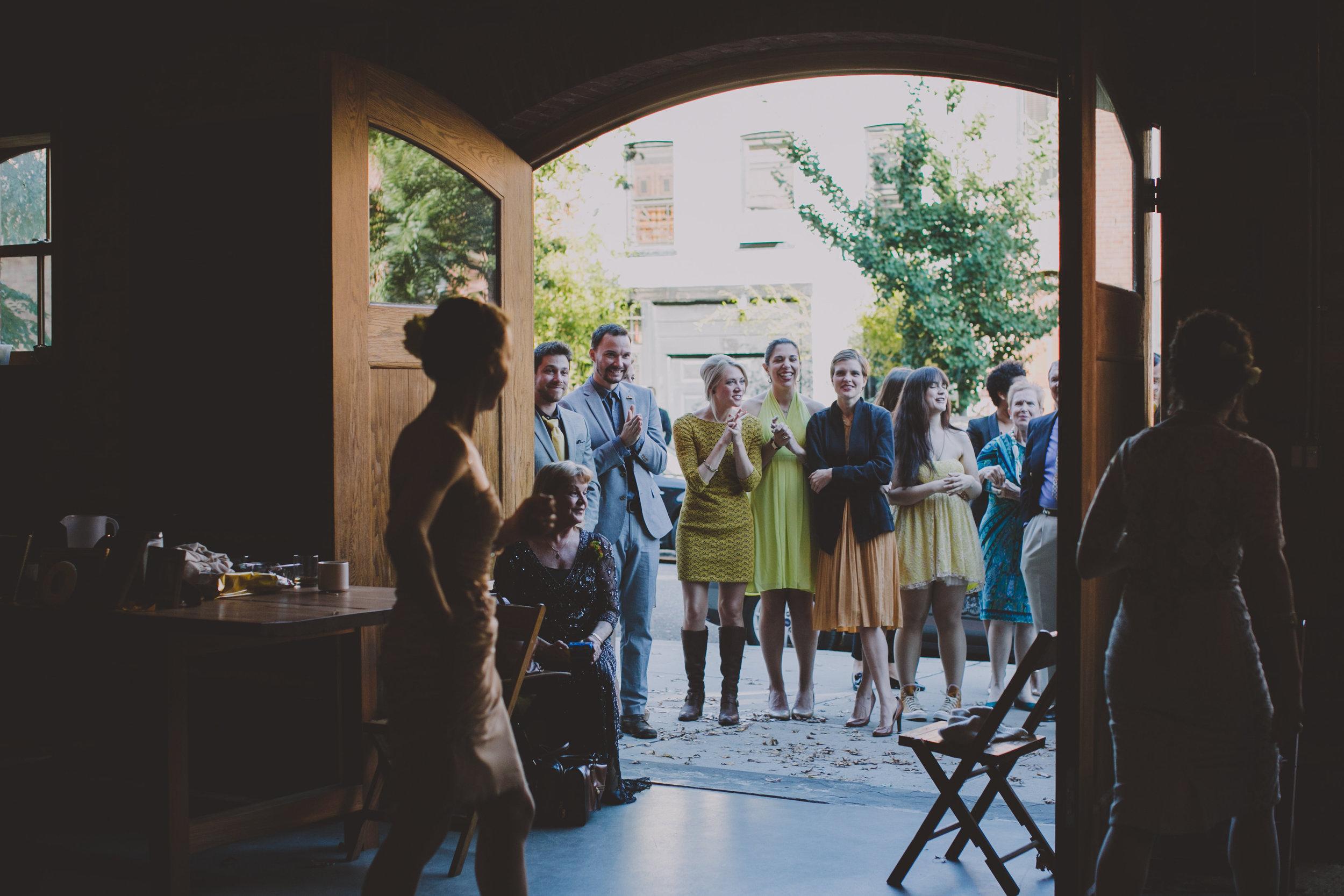 THE GREEN BUILDING LESBIAN GAY WEDDING CHELLISE MIKE BROOKLYN PHOTOGRAPHER