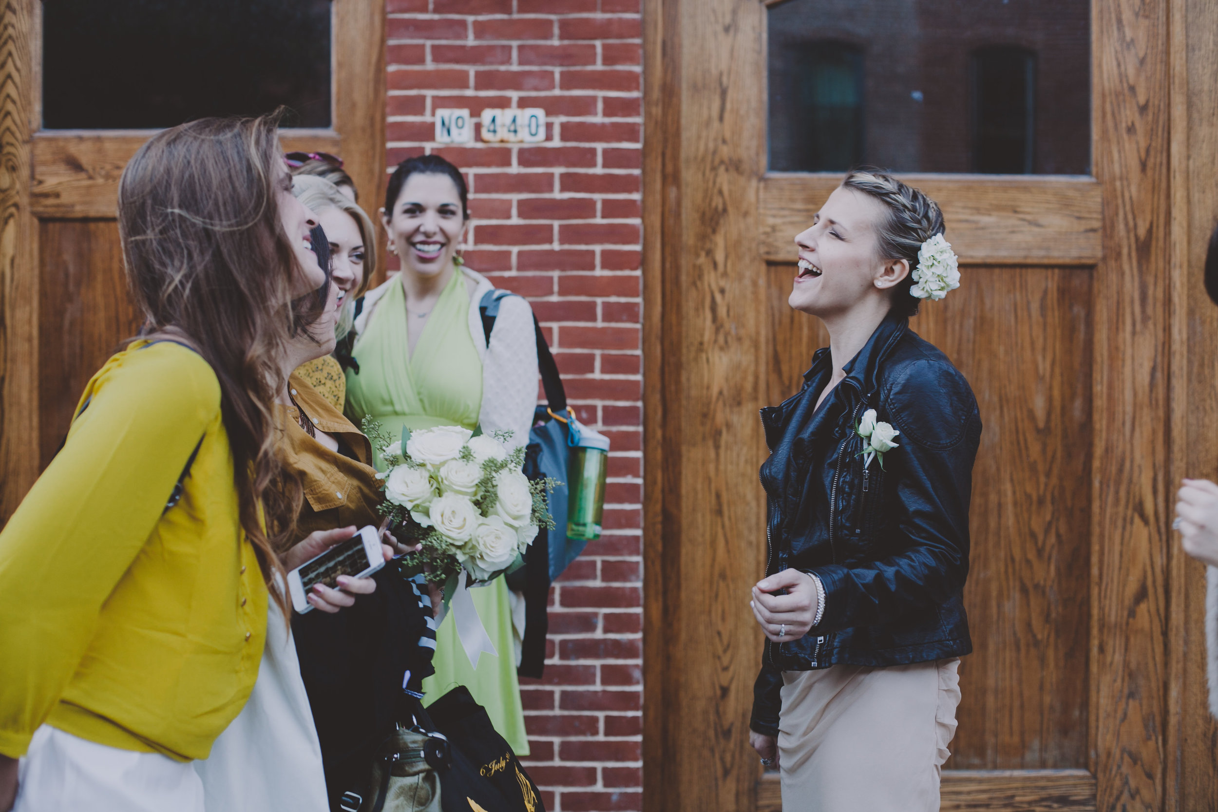 THE GREEN BUILDING LESBIAN GAY WEDDING CHELLISE MIKE BROOKLYN PHOTOGRAPHER