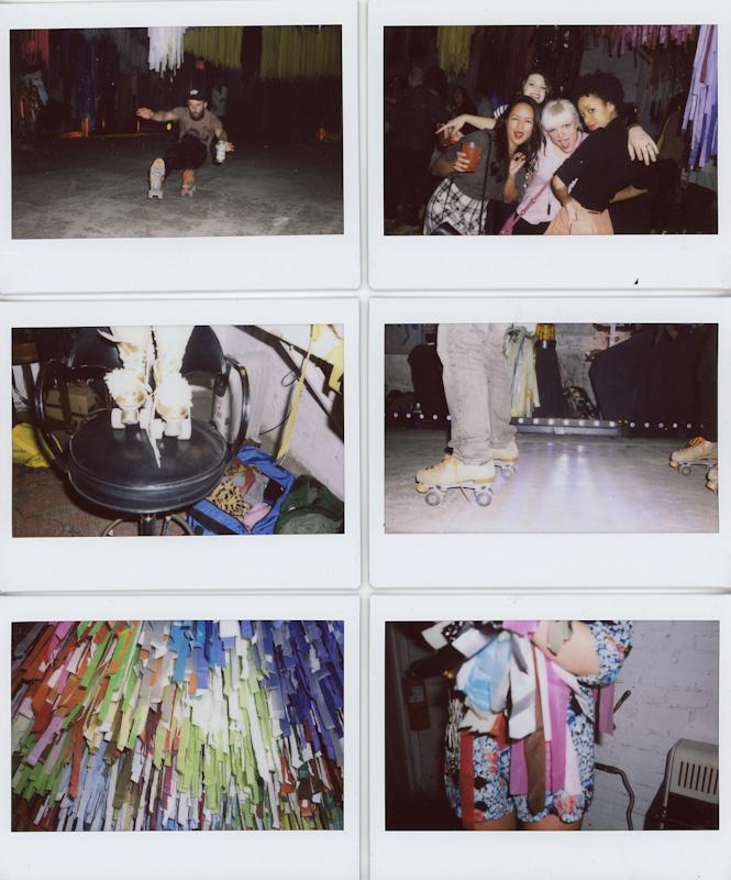 arizona backyard wedding chandler polaroid fuji film us make portraits i shoot film film community instax wide fujiroid chellise michael photography