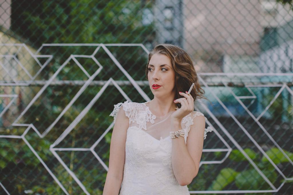 Angel Oransanz Wedding NYC LES Smoking Bride-140.jpg