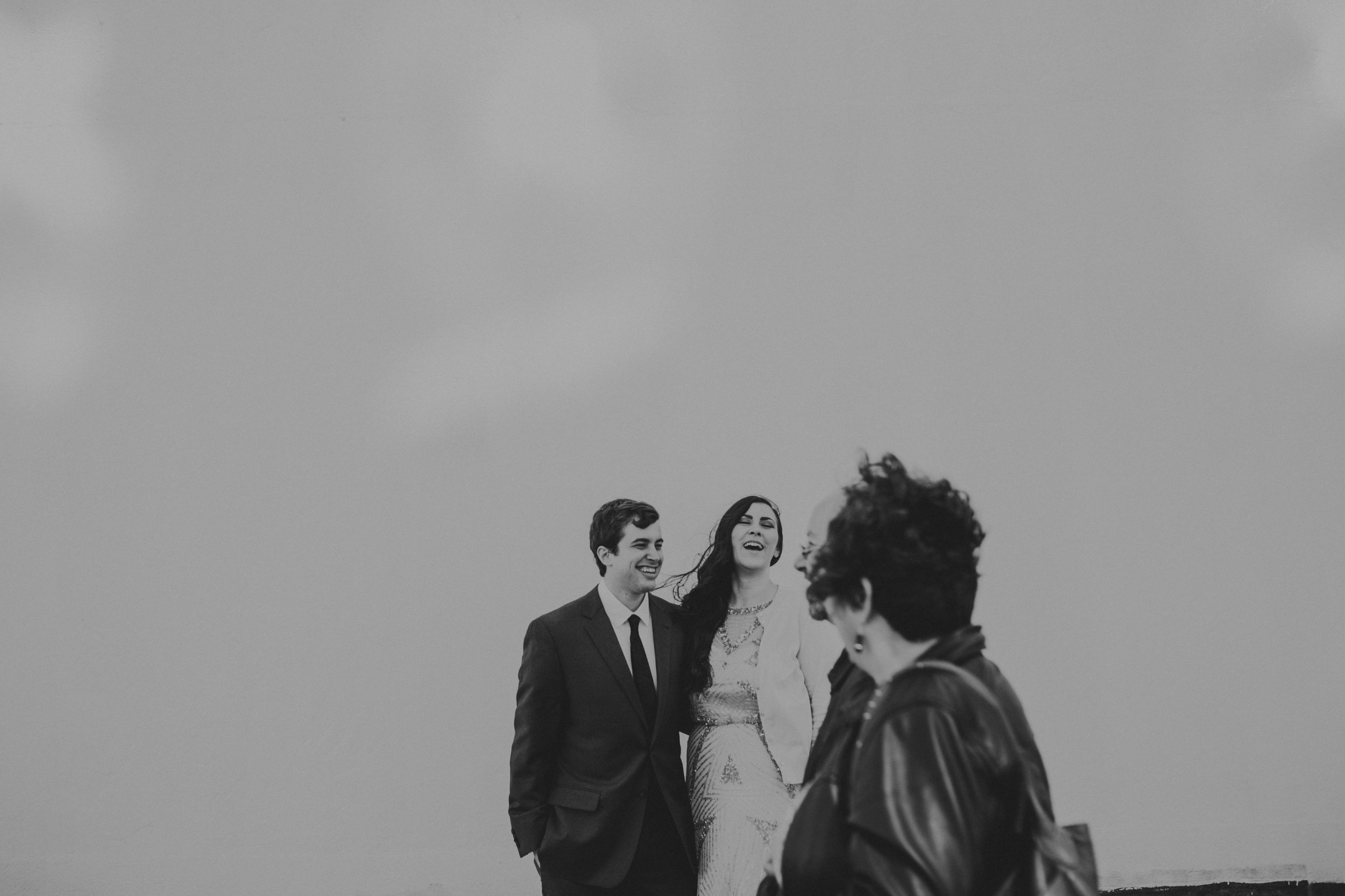 roger smith hotel black and white engagement photographer