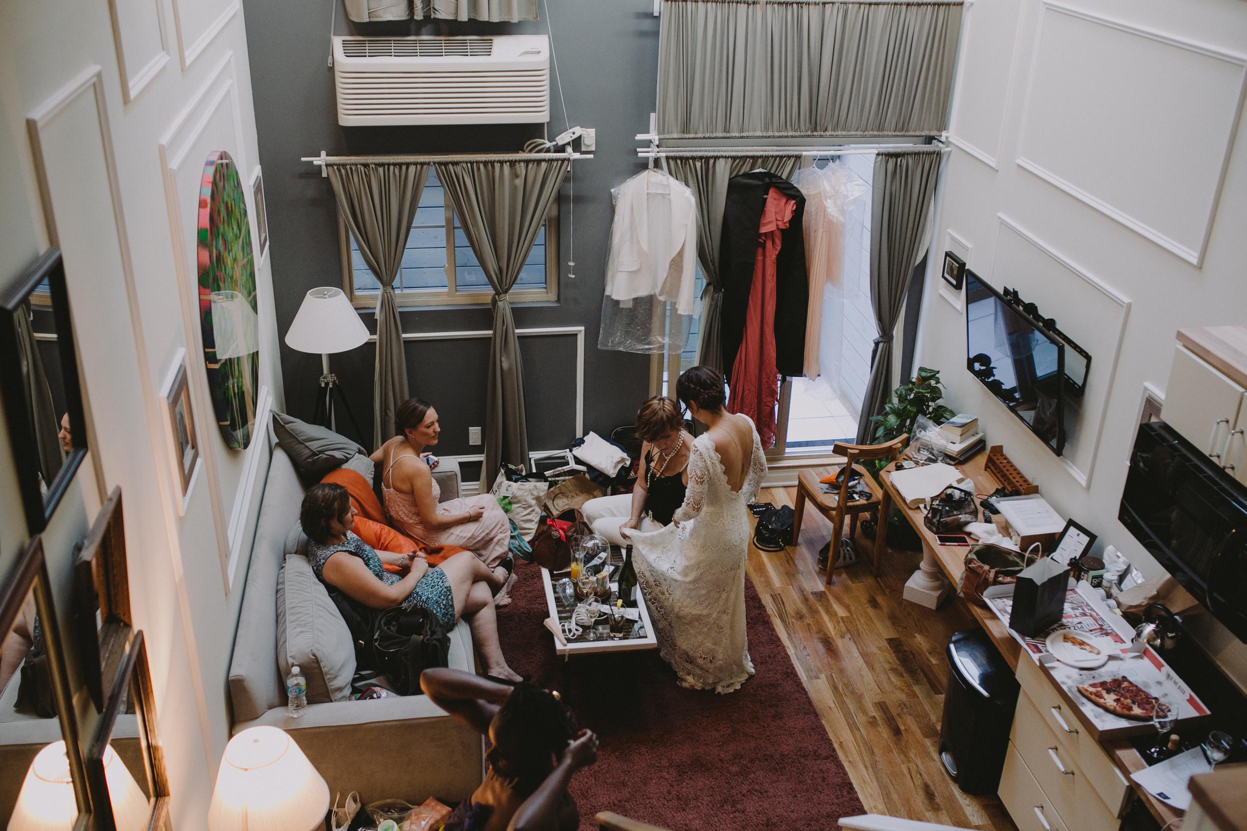 greenpoint loft best brooklyn wedding photographer the box hotel greenpoint