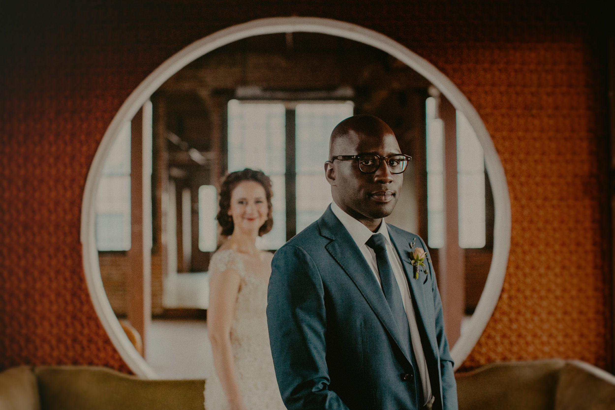 metropolitan building wedding documentary candid style brooklyn